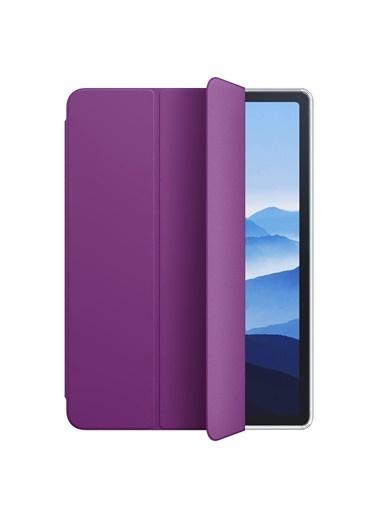 Microsonic Apple iPad Air 4 (2020) Smart Case ve arka Kılıf Mor
